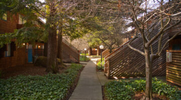 Coddingtown Mall Apartments grounds featured