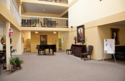 Altamont Apartments community lounge area