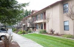 Edgewood Apartments grounds