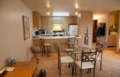 Altamont Apartments kitchen & dining area
