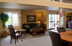 Altamont Apartments living area