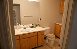 Deer Path Villas living laundry and bathroom