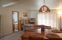 Meadowrock Duplex dining and living area